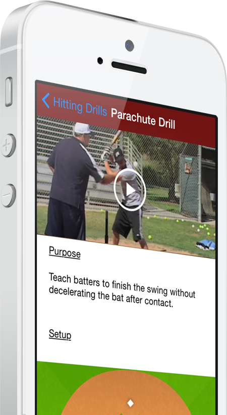Baseball coaching app baseball blueprint skyrocket your teams skills streamline your practices outplay your competition malvernweather Images